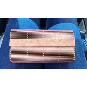 Wooden Airy Clutch Wallet